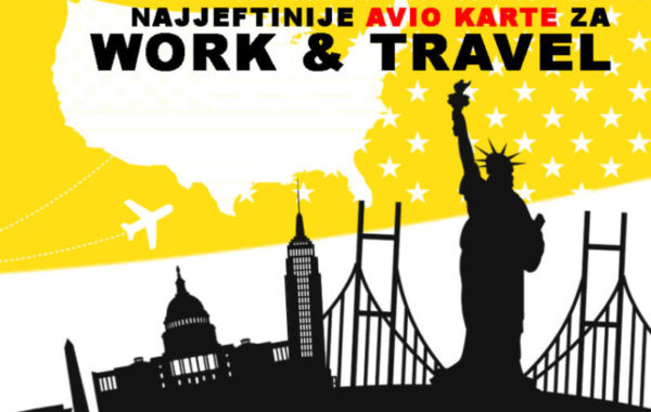 WORK & TRAVEL avio karte 2017