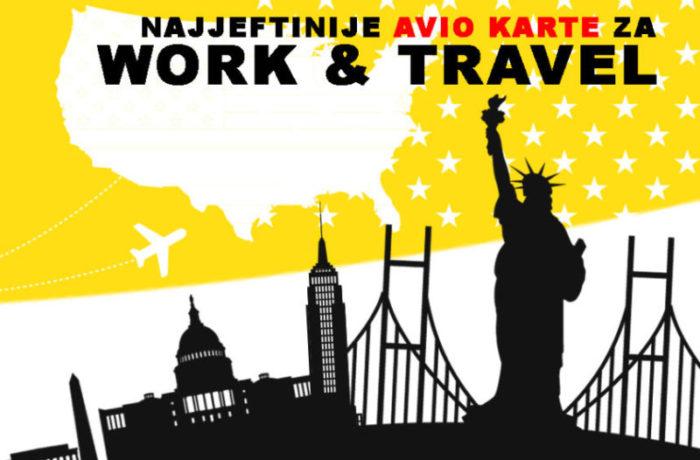 WORK & TRAVEL avio karte 2017